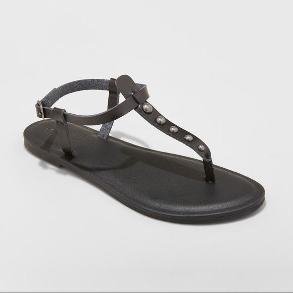 89321c5dd573 Universal Thread Black Kylianne Sandal with Studs